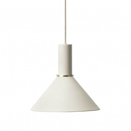 Ferm Living Pendant light Cone low light gray metal