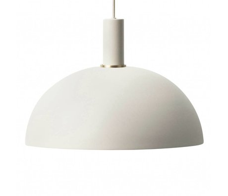 Ferm Living Dome light Dome light gray metal