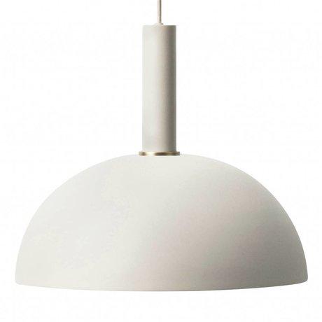 Ferm Living Dome light dome light gray metal