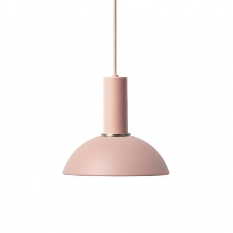 Ferm Living Hanging lamp Hope low pink metal