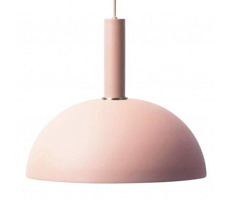 Ferm Living Hängeleuchte Dome hohe rosa Metall