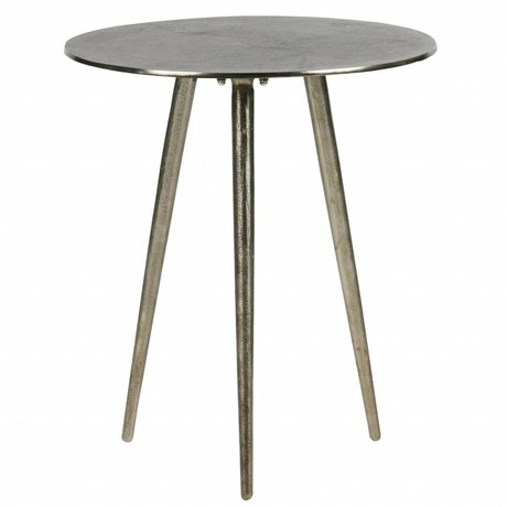BePureHome Side table Bright burished gold metal 47,5x40x40cm