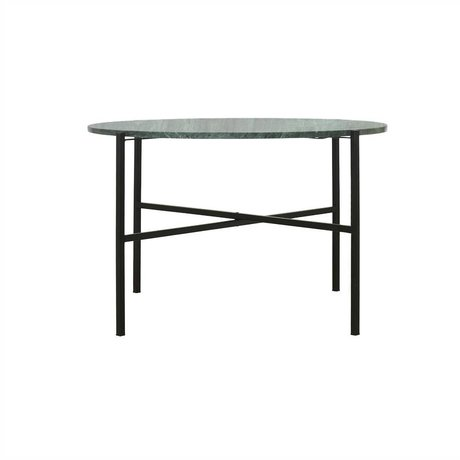 Housedoctor The Green green marble table metal Ø70x45cm - Copy