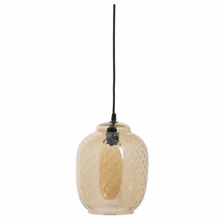 BePureHome Hanglamp Bubble antiek brass goud glas 25x20x20cm