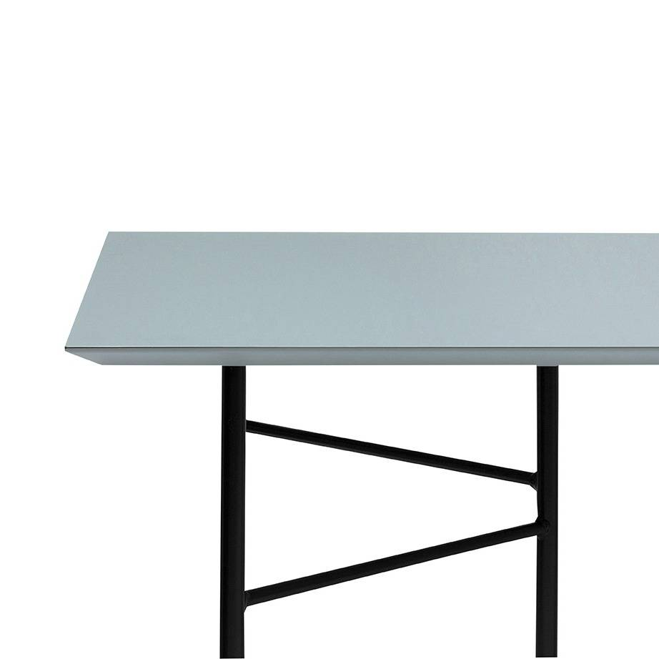 Black Table Top Throughout The Ferm Living Mingle Tabletop Is Design By Trine Andersen Series Absolutely Lives Up To Its Name Dutch Translation For The Word Mingle Table Top Dusty Charcoal Black Linoleum