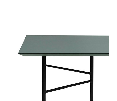 Ferm Living Mischen Sie sich Tisch grüne Linoleum 210x90x2cm