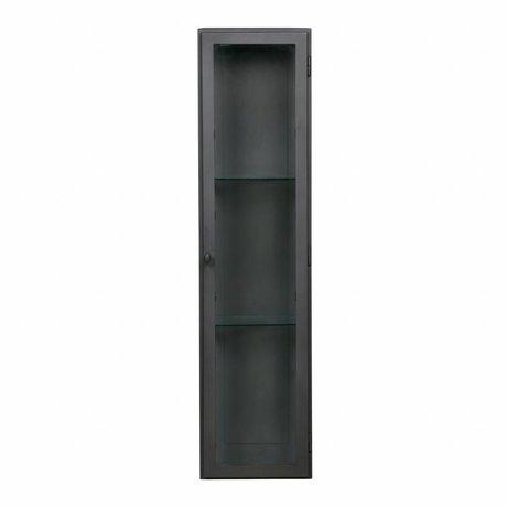 BePureHome Display case Manta XL hanging gray metal 120x30x25cm