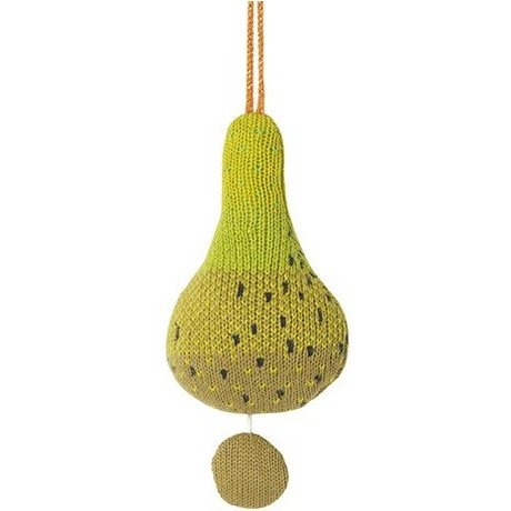 Ferm Living Mobile met muziek fruiticana pear katoen Ø9cm