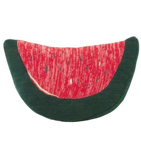 Ferm Living Knuffel fruiticana Watermelon katoen 20x31cm