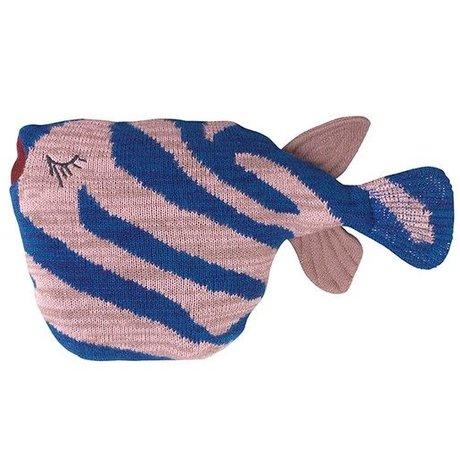 Ferm Living Hug fruiticana Stripy Fisch Baumwolle 27x27x12cm