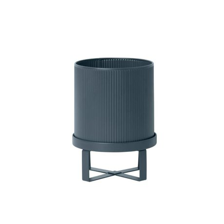 Ferm Living Pot Bau dark blue Small Ø18x24cm