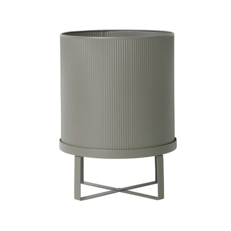 Ferm Living Pot Bau gray zinc Large Ø28x38cm