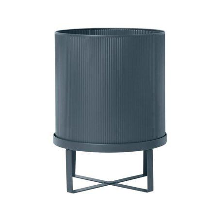 Ferm Living Pot Bau dark blue Large Ø28x38cm
