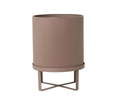 Ferm Living Pot Bau dusty pink Large Ø28x38cm