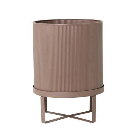 Ferm Living Pot Bau dusty roze Large Ø28x38cm