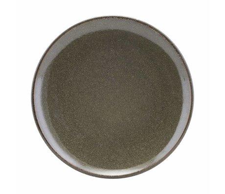 Housedoctor See grüne Keramik Teller 27