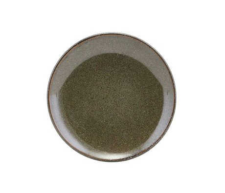 Housedoctor Pastry plate Lake green ceramic ¯15,2