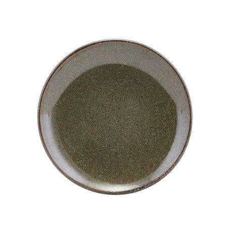 Housedoctor Gebaks Board See grüne Keramik 15.2
