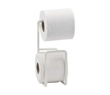Housedoctor Wc rolhouder Via wit staal 24,5cm