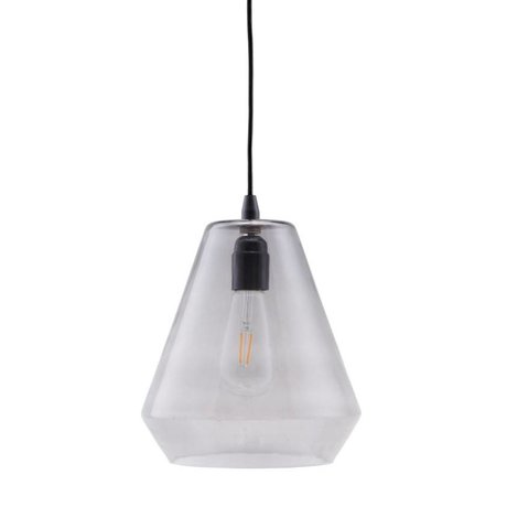 Housedoctor Hanging lamp Hood gray glass ¯22,5x25cm