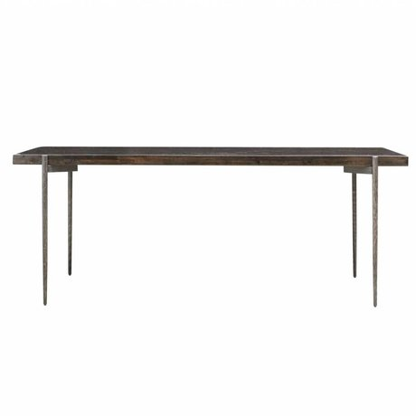 Housedoctor Eettafel Close hout 200x90x78cm