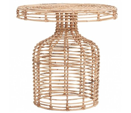 Housedoctor Side table natural rattan ¯46x46cm