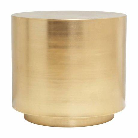 Housedoctor Bijzettafel Step brass staal 50x45,7cm