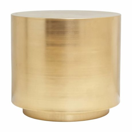 Housedoctor Side table Step brass steel ¯50x45,7cm