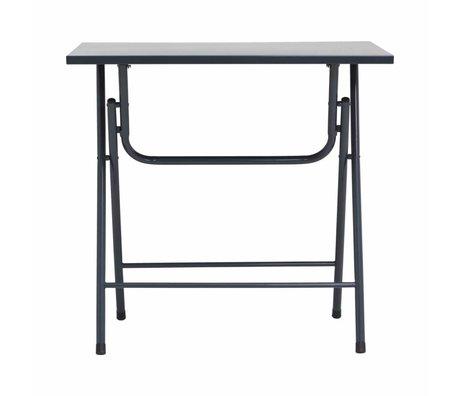 Housedoctor Bijzet tafel Fold it grijs ijzer 80x60x72cm