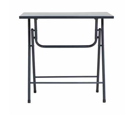 Housedoctor Folding table Fold it gray iron 80x60x72cm