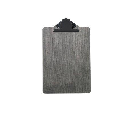 Ferm Living Zwischenablage A5 Black wood 17x25,5cm