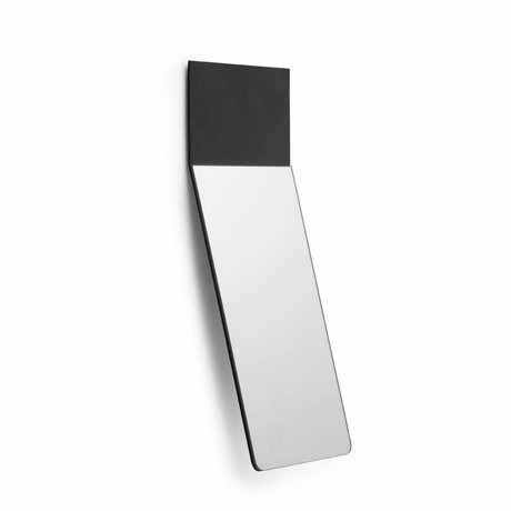 Normann Copenhagen Normann Copenhagen  Spiegel Fold mirror zwart medium 26x32,8