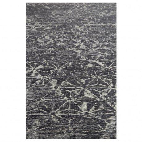 Zuiver Teppichfräser blau Textil 200x300cm