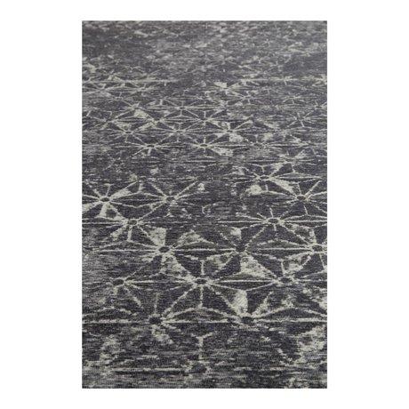 Zuiver Teppich Miller blau Textil 170x240cm