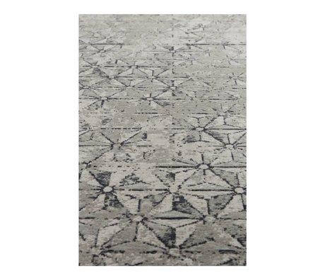Zuiver Teppich Miller grau Textil 170x240cm