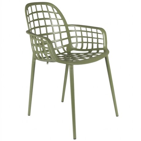 Zuiver Garden chair Albert Kuip green metal 59,5x59,5x82,5cm