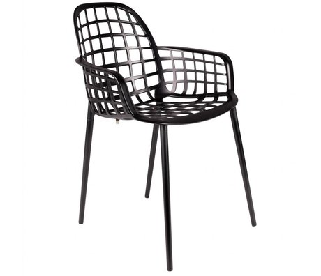 Zuiver Garden chair Albert Kuip black metal 59,5x59,5x82,5cm