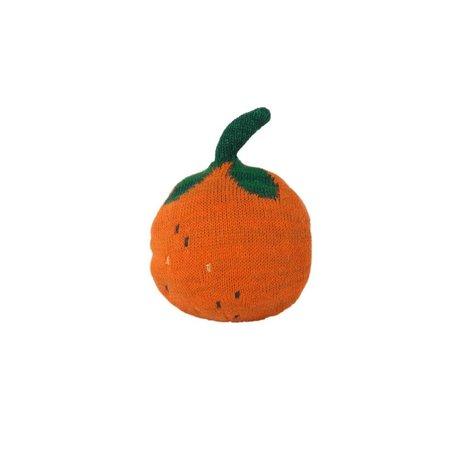 Ferm Living Roly-Poly Fruiticana Orange oranje katoen Ø14x14cm