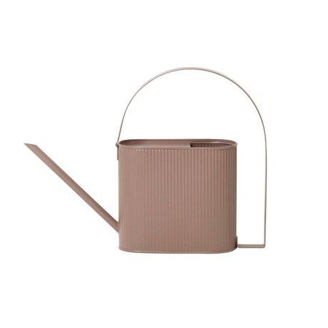 Ferm Living Watering can Bau dusty pink zinc Small 38,5x8x28cm