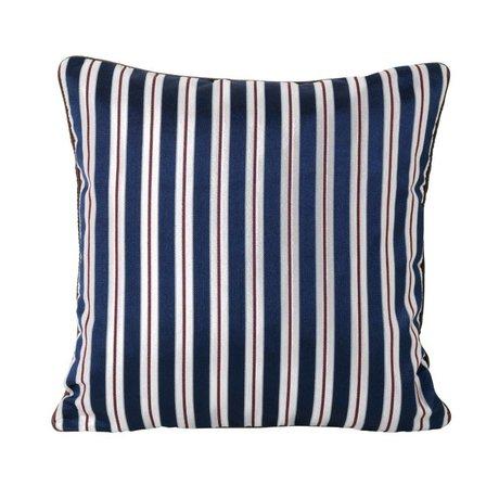 Ferm Living Cushion Salon Pinstripe multicolour textile 40x40cm