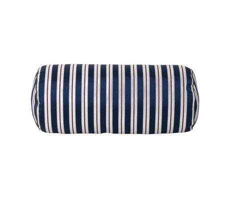 Ferm Living Cushion Lounge Bolster Pinstripe Mehrfarbentextil 41,5xØ16,5cm