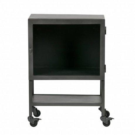 BePureHome Display case Bespoke gray metal 72x50x35cm