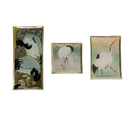 BePureHome Schaaltjes Birds set van 3