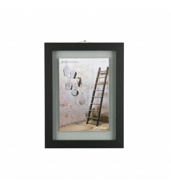BePureHome Shift black wood frame M 40x30x1,8cm - Wonen met LEF!