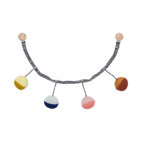 Ferm Living Wagenspanner Ball Multicolor Baumwolle Ø6x55cm