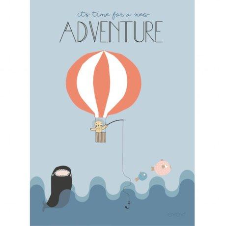 OYOY Poster Balloon multicolour 50x70cm