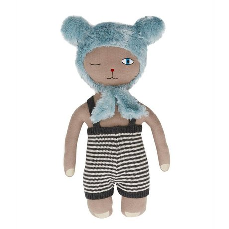 OYOY Hopsi Bear pop multicolour 43x25cm