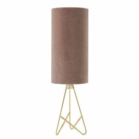 OYOY Lampe de table Toko rose velours