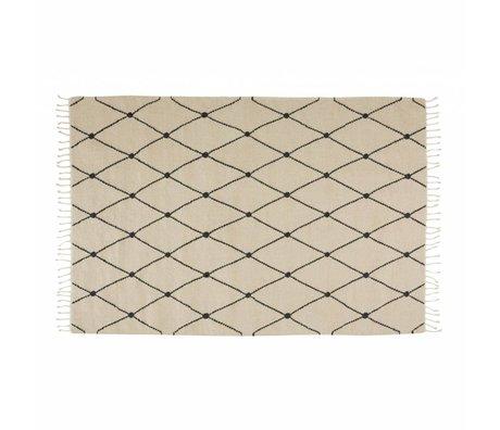 OYOY Rug Mino cream textile 130x190cm