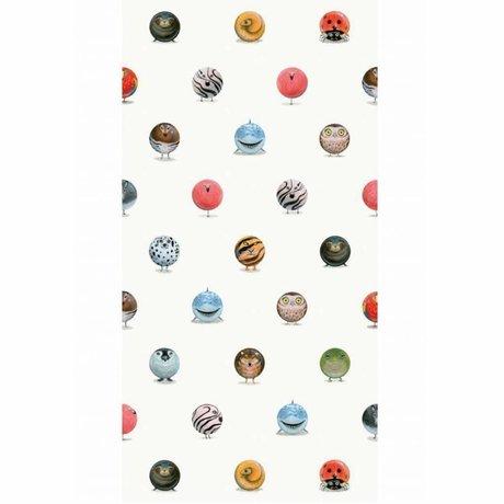 KEK Amsterdam Wallpaper Animal Marbles multicolor non-woven paper 97.4 x 280cm
